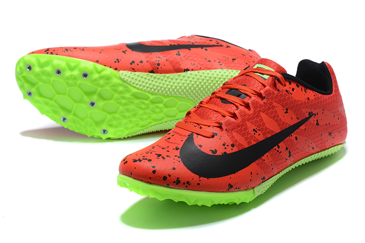 Nike Rival S9-Red Green Front heel