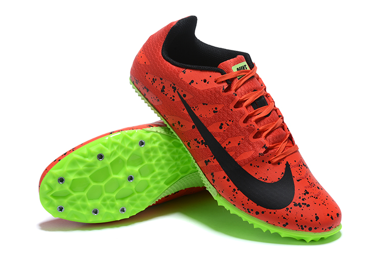 Nike Rival S9-Red Green side