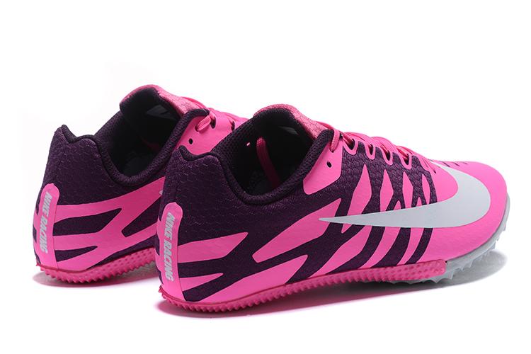 Nike Rival S9 -pink white Heel