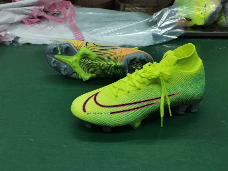 Nike Superfly VII 7 Elite SE FG -Yellow green red