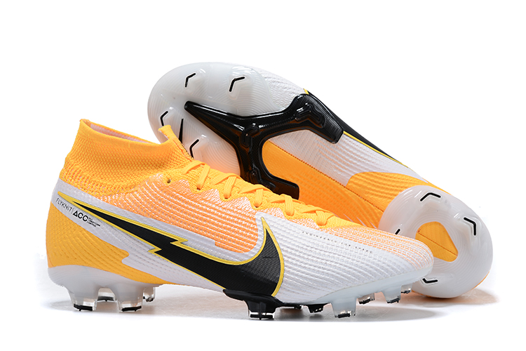 Nike Superfly VII 7 Elite SE FG-Yellow white black