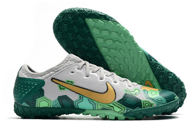 Nike Vapor 13 Pro TF-Gris Oro Verde Shop