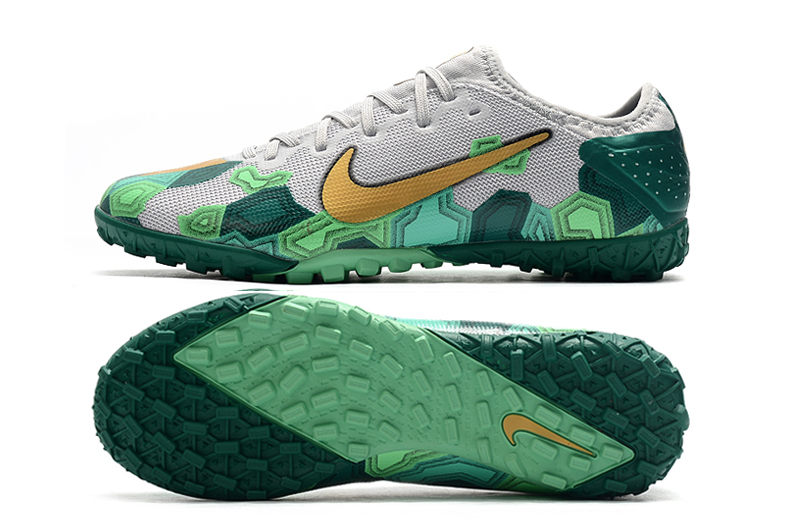 Nike Vapor 13 Pro TF-Gris Oro Verde Sole