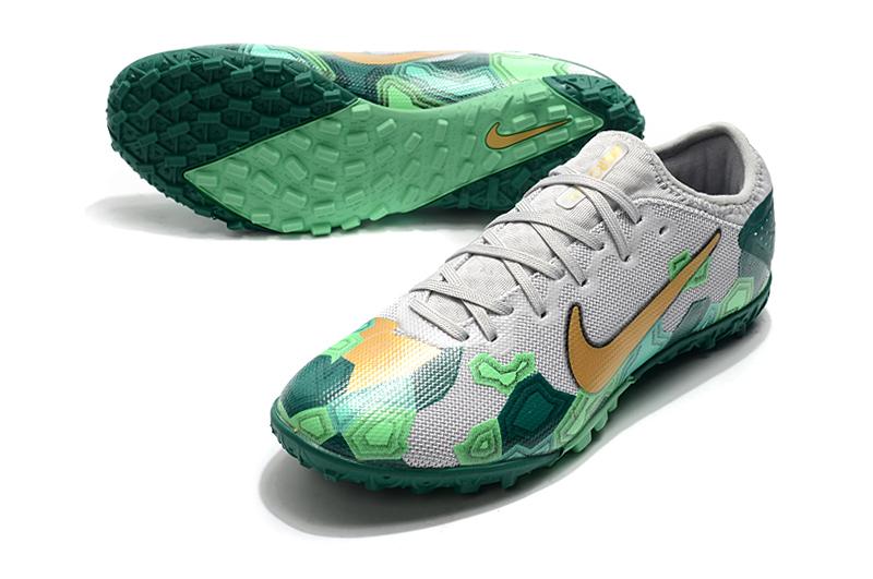 Nike Vapor 13 Pro TF-Gris Oro Verde Upper