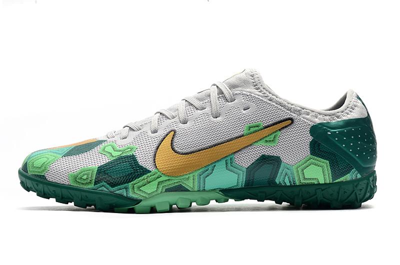 Nike Vapor 13 Pro TF-Gris Oro Verde shoes