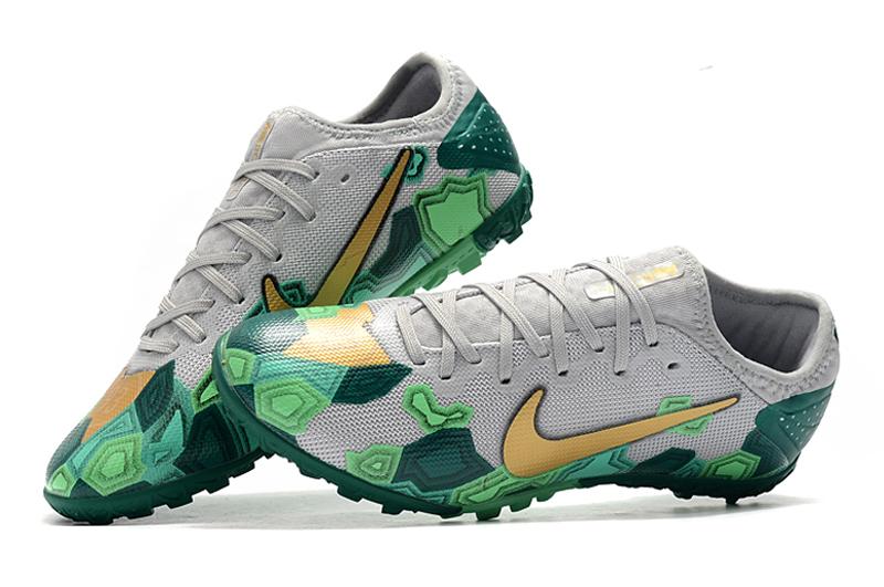 Nike Vapor 13 Pro TF-Gris Oro Verde