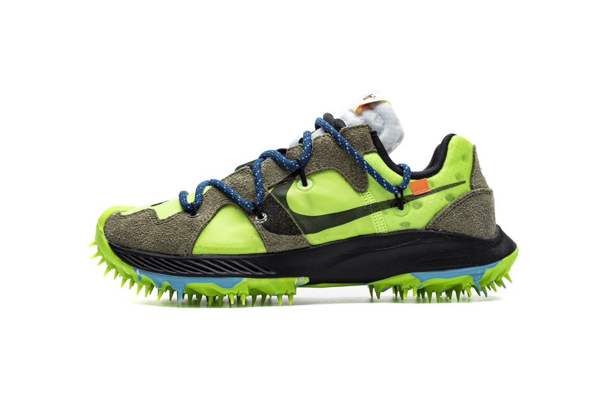 NikeW Zoom Terra Kiger 5 Off-White Brown Green