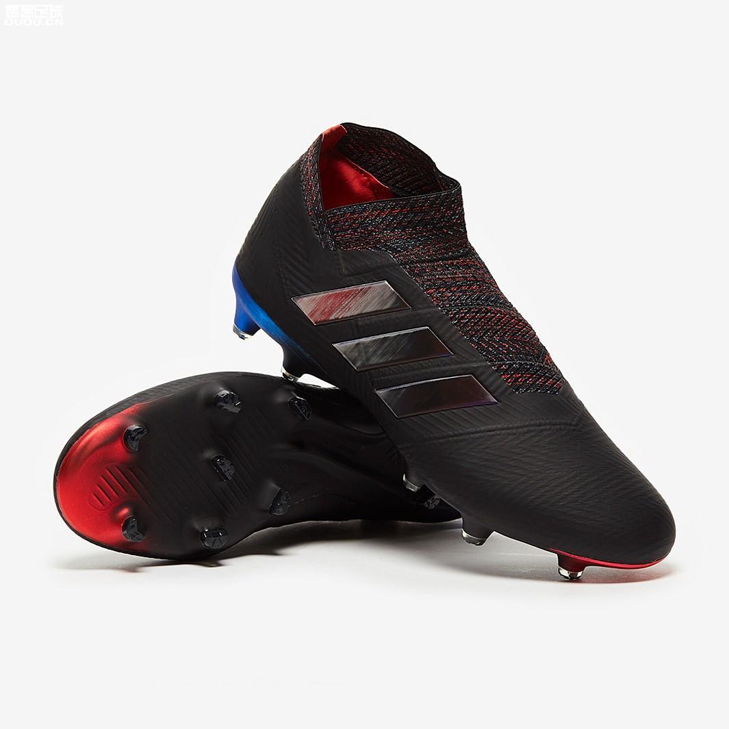 adidas Nemeziz 18+ FG Black Red Blue Shop