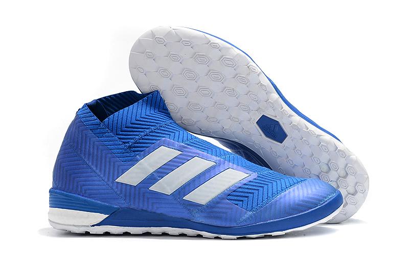 adidas Nemeziz Tango 18+ IN-Blue White side