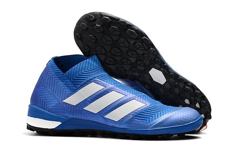adidas Nemeziz Tango 18+ TF-Blue White Right