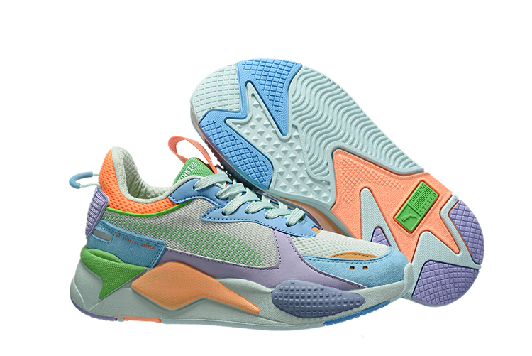 15 PUMA RS-X remodeling Puma men and women shoes old shoes Upper