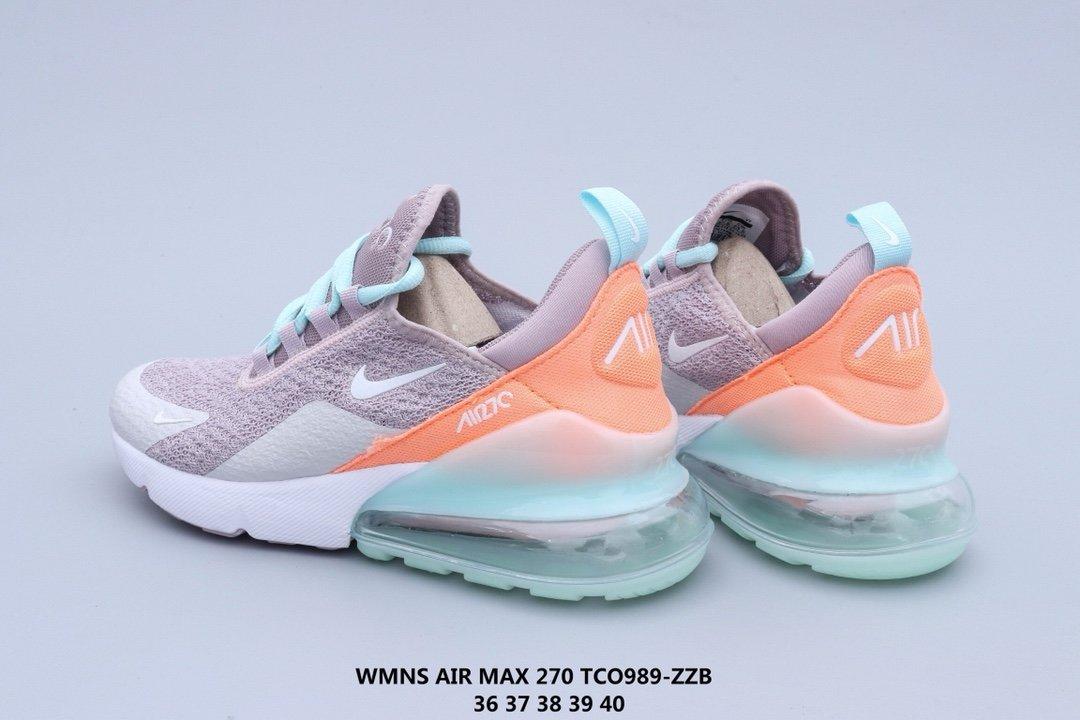 175 Nike Nike Wmns Air Max 270 true air cushion running shoes side