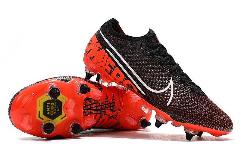 Nike Mercurial Vapor 13 Elite SG-PRO AC red and black shoes