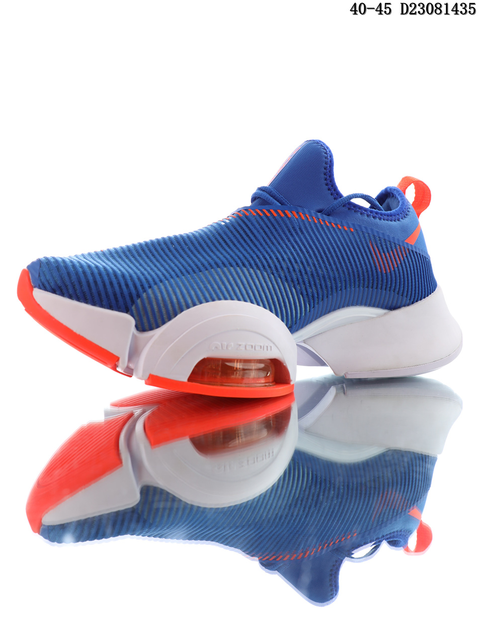 Nike Air Zoom Superrep Blue Red Running Shoes side
