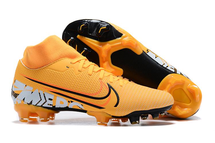 Nike Mercurial Superfly VII Club FG yellow black whirlwind