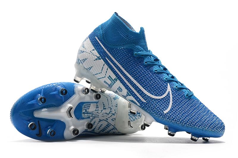 Nike Mercurial Vapor 13 Elite FG blue white