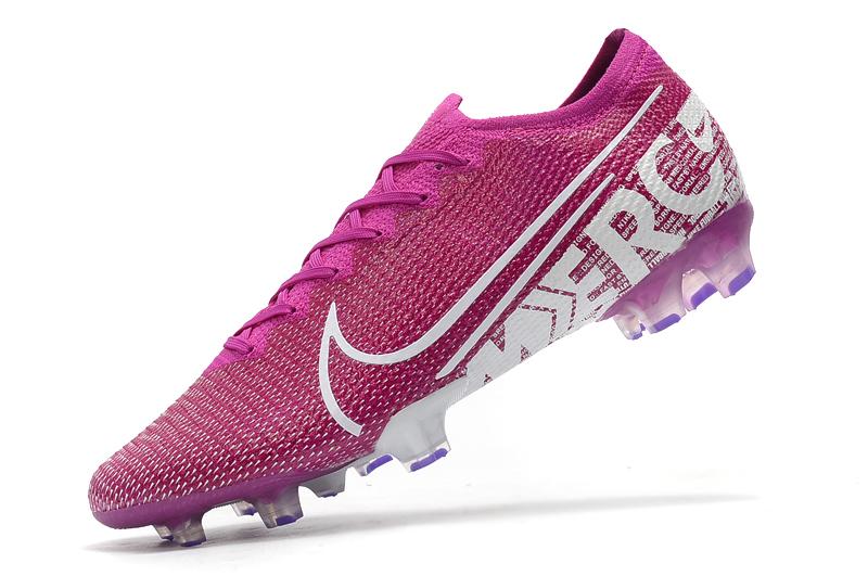 Nike Mercurial Vapor 13 Elite FG purple white Left