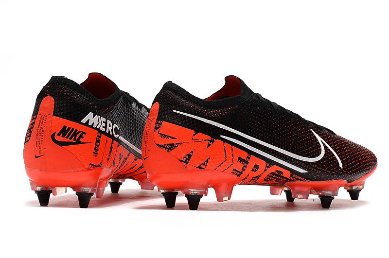 Nike Mercurial Vapor 13 Elite SG-PRO AC red and black Behind