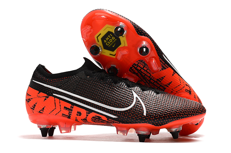 Nike Mercurial Vapor 13 Elite SG-PRO AC red and black Sell