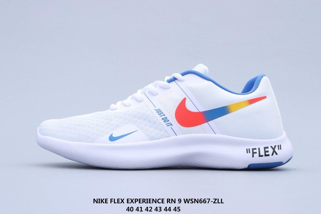 Nike NIKE FLEX EXPERIENCE RN 9 barefoot white