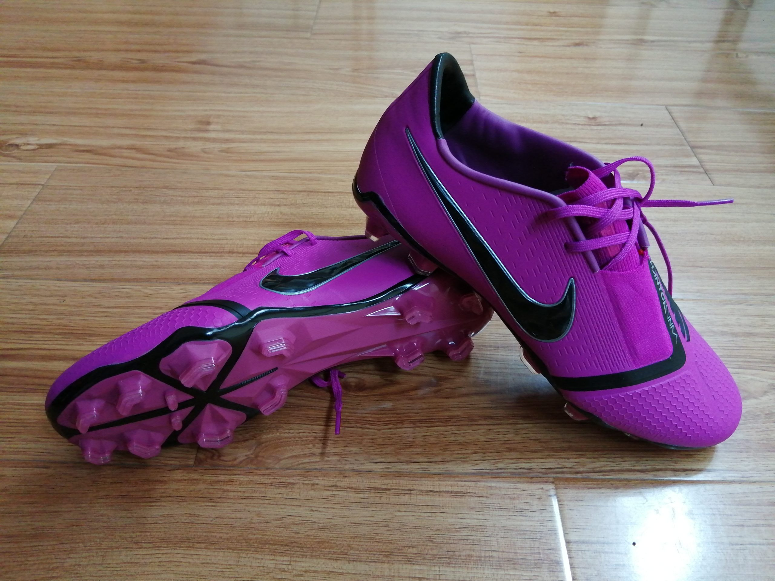 Nike Phantom VNM FG purple black