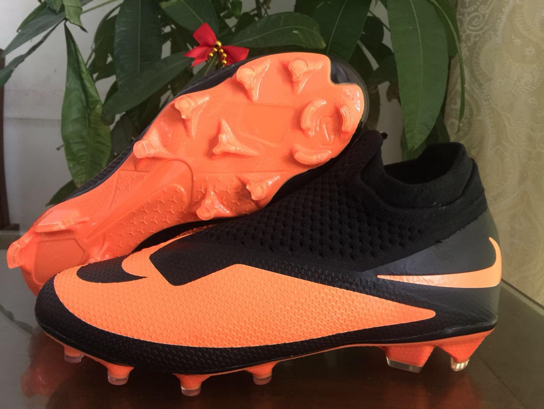 Nike Phantom Vision Elite DF FG black orange Shop