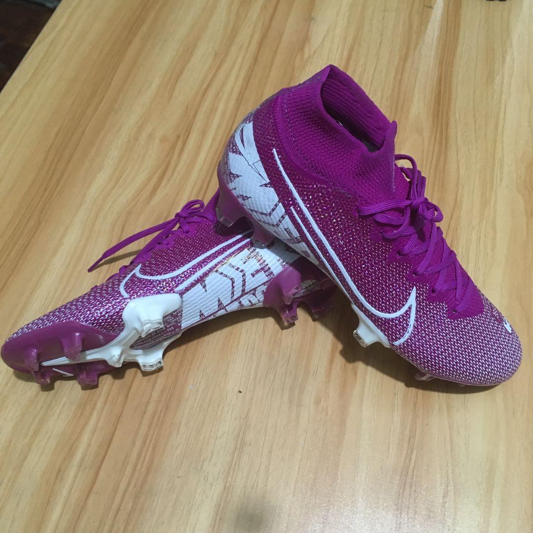 Nike Superfly 7 Elite SE FG purple white