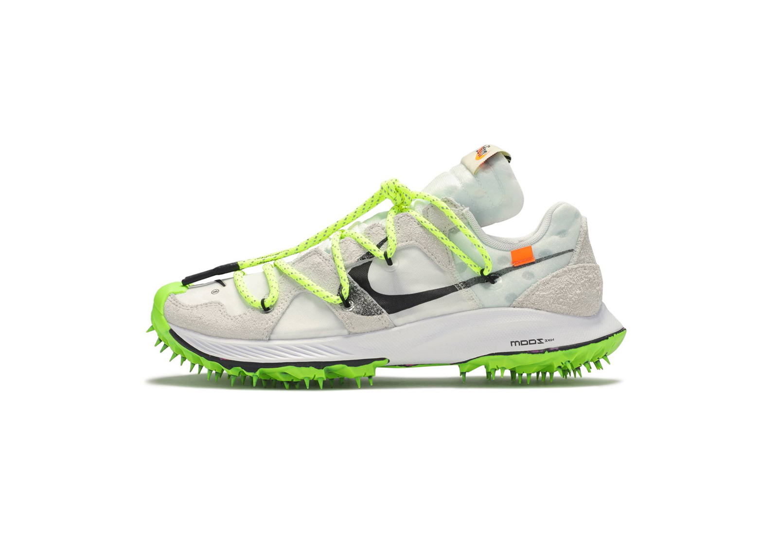 Off-White Nike Zoom Terra Kiger 5 White side