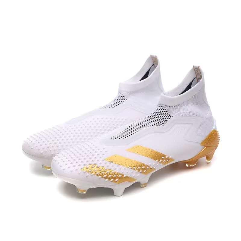Adidas Falcon 20.3 TPU bottom football shoes white Upper