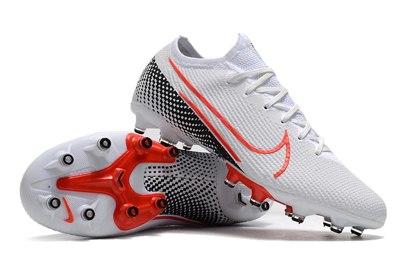 Nike Mercurial Vapor 13 EliteAG white black red shoes