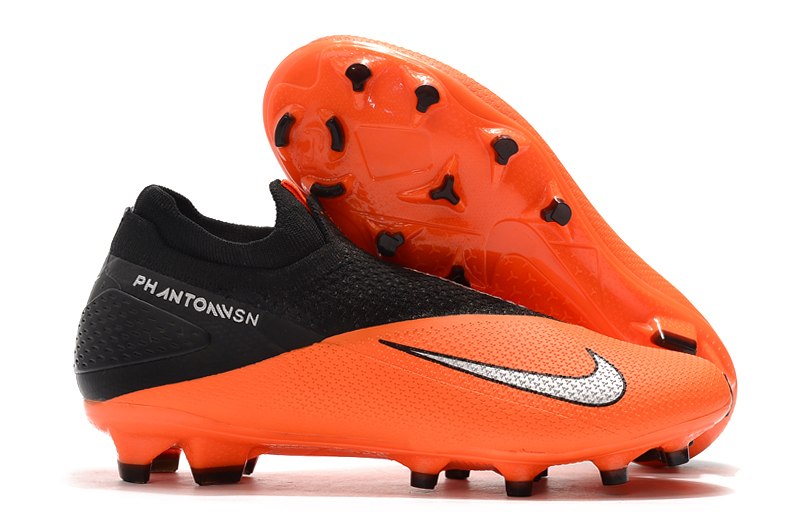 Nike Phantom Vision Elite DF Orange Black White Sell
