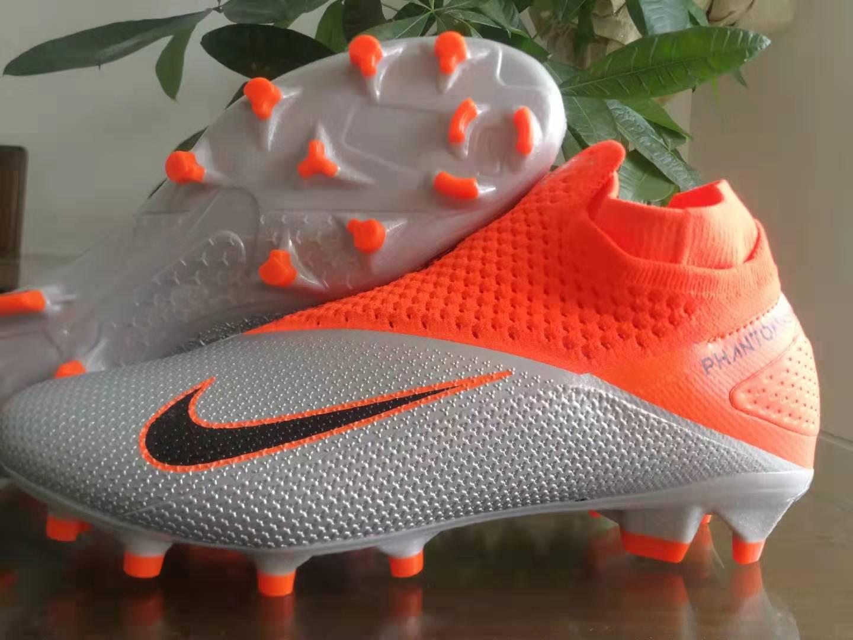 Nike Phantom Vision Elite DF red orange gray Sell