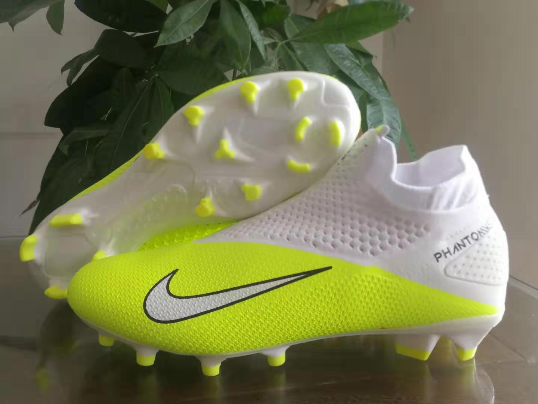 Nike Phantom Vision Elite DF yellow white Shop
