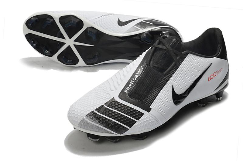 Nike Phantom VNM Elite FG white black Upper