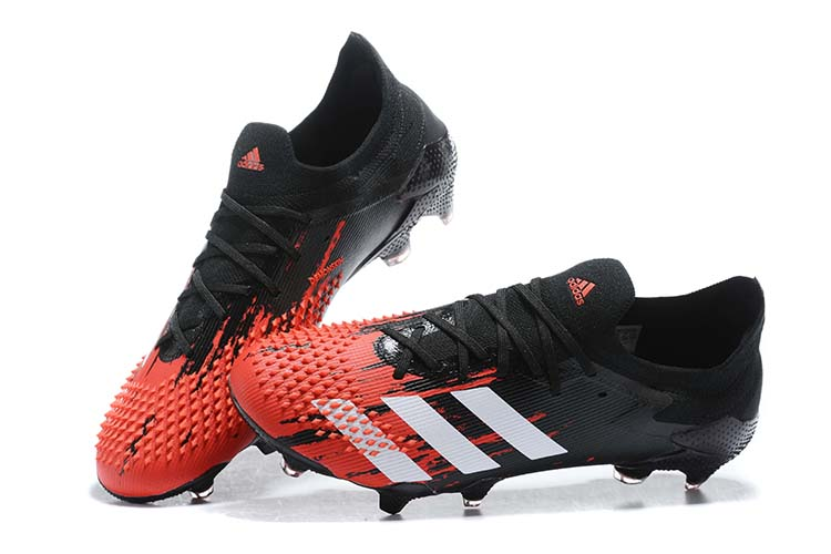 adidas Predator 20.1 Low-Cut FG Firm Ground Soccer Cleat - Black Red White Shop
