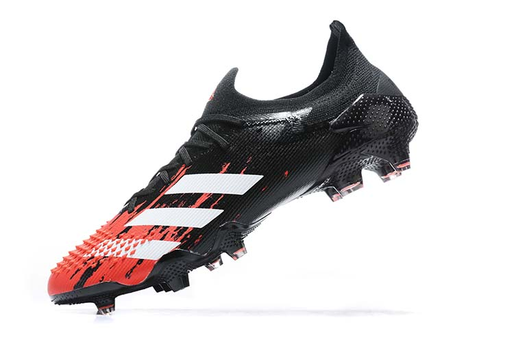 adidas Predator 20.1 Low-Cut FG Firm Ground Soccer Cleat - Black Red White buy
