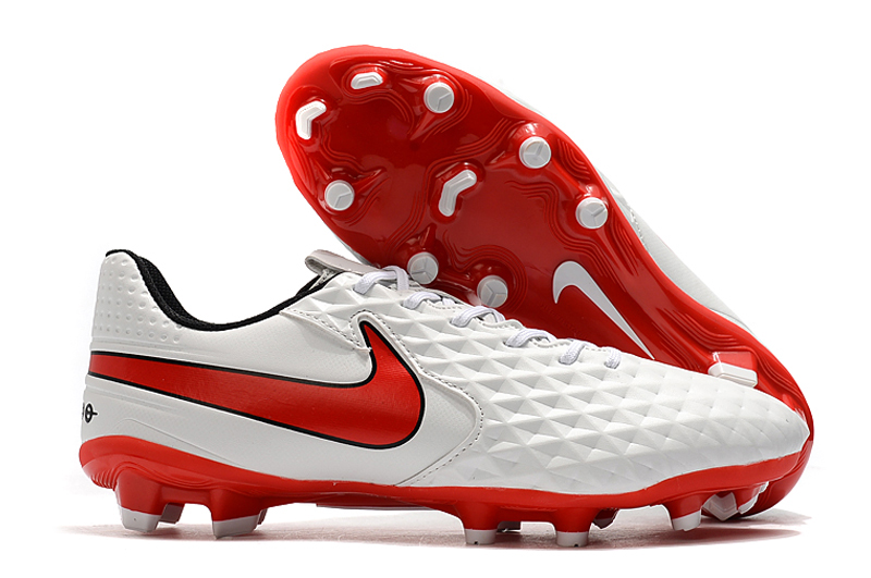 Nike Tiempo Legend VIII FG Red White Shop