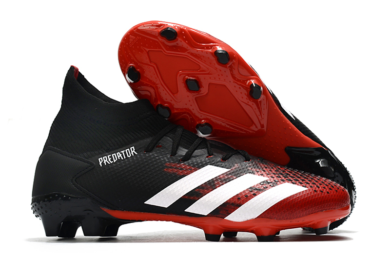 Adidas Falcon 20.3 FG black red side