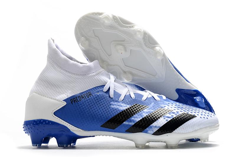 Adidas Falcon 20.3 FG blue white black Upper