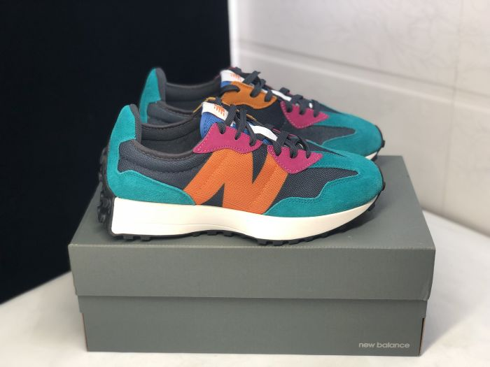 New Balance 327 blue orange