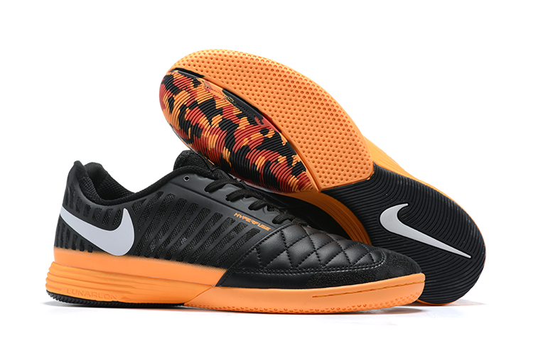 Nike Lunar Gato II I-Black Orange Outside