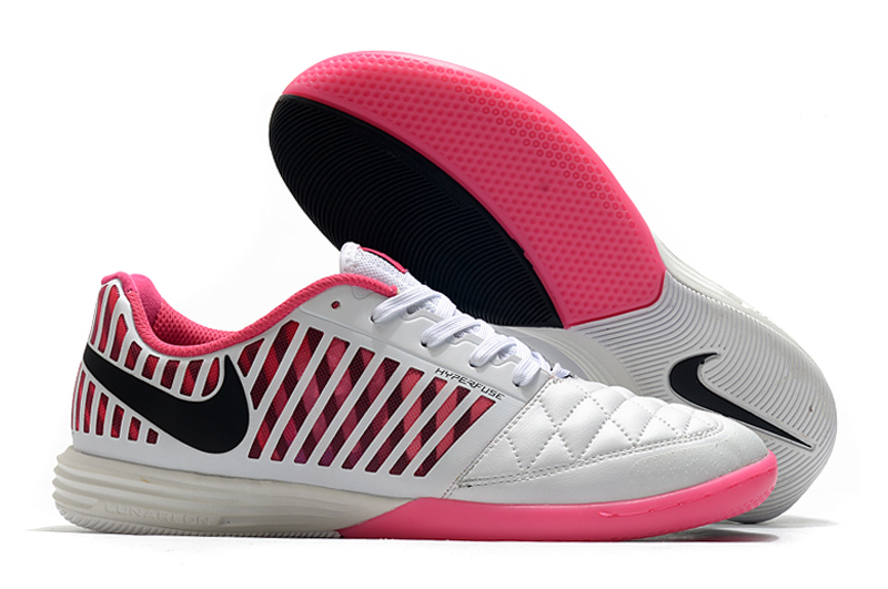 Nike Lunar Gato II IC pink white Right