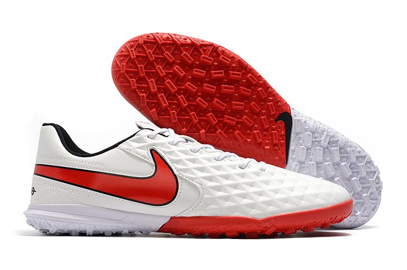 Nike Tiempo Legend VIII TF Red White Right