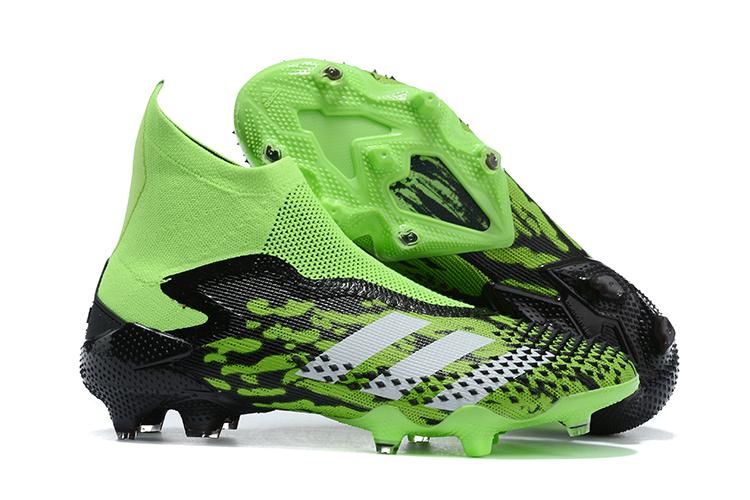 adidas Predator Mutator 20+ FG-Green Black Outside