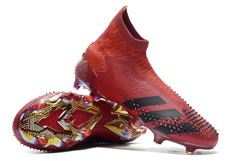 adidas Predator Mutator 20+ FG size dark red Right