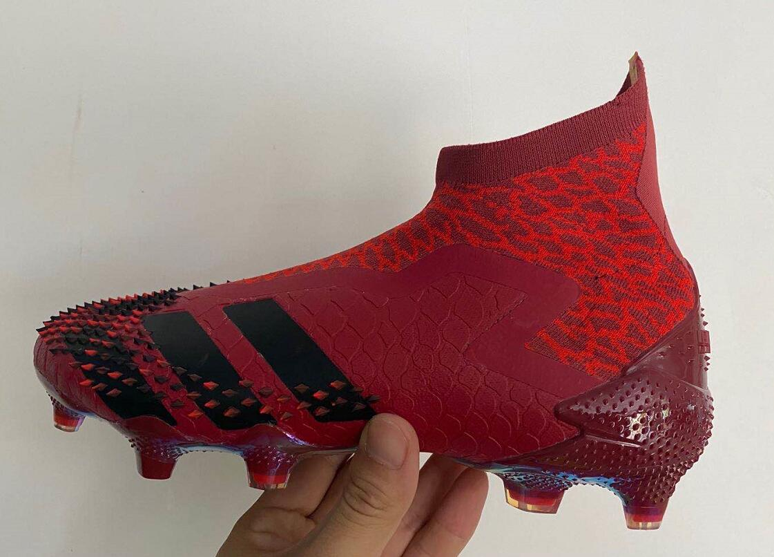 adidas Predator Mutator 20+ FG size dark red Upper