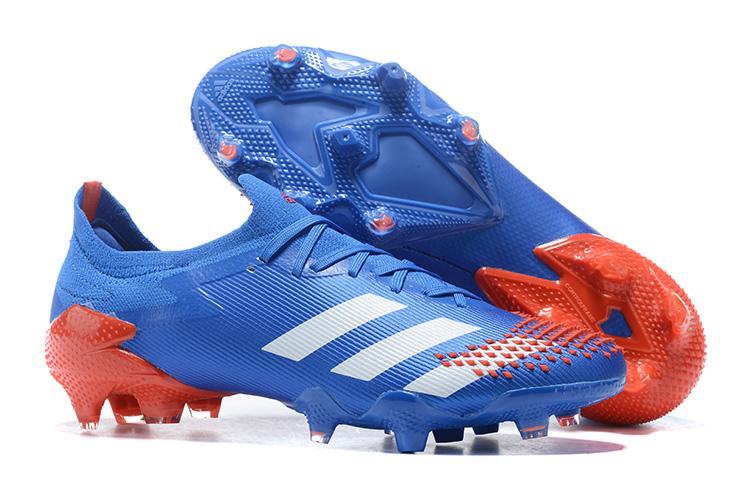 adidas Predator Mutator 20.1 Low FG Blue Red shoes