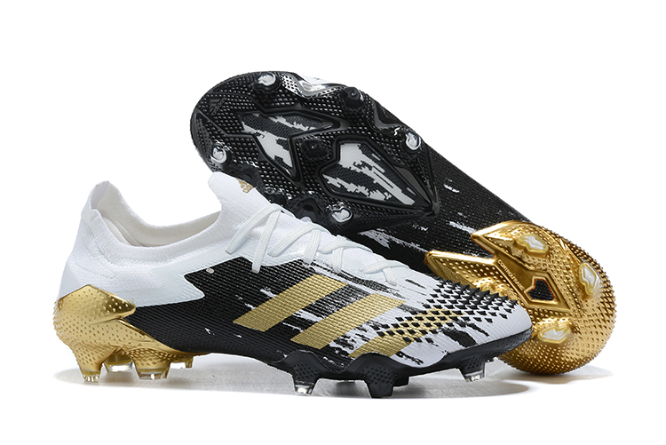 adidas Predator Mutator 20.1 Low FG White Gold Black Sell