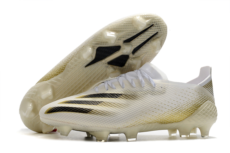adidas X Ghosted .1 FG-Metal Gold White Black Left