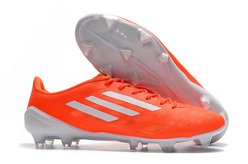 adidas X99 19.1 FG white orange Right